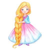 10 Amelia and the golden-haired princess 1